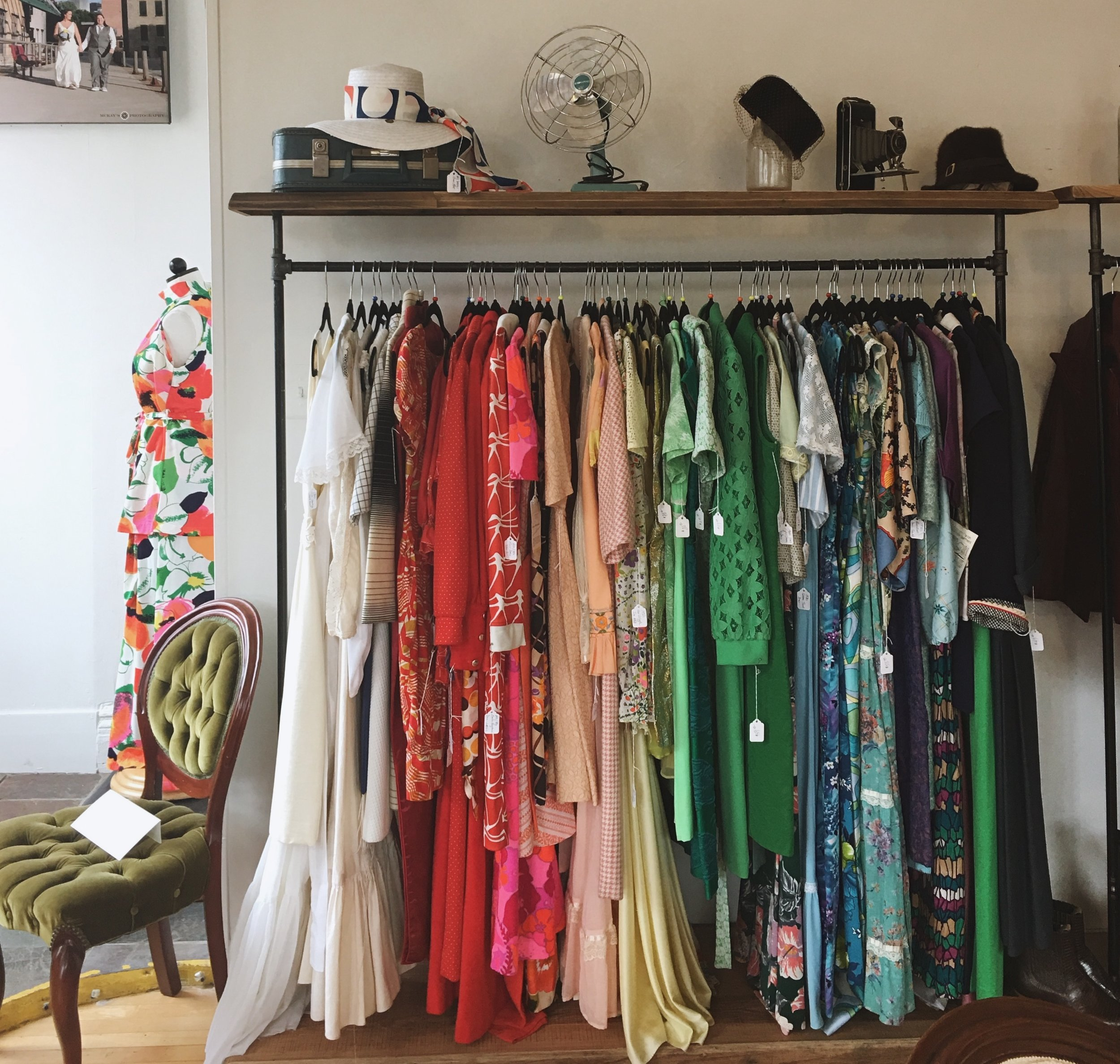 70's prints, vintage accessories, statement making home decor and all sorts of dreamy fur jackets.   Jane Vintage   is the perfect stop to find pieces with lots of character.