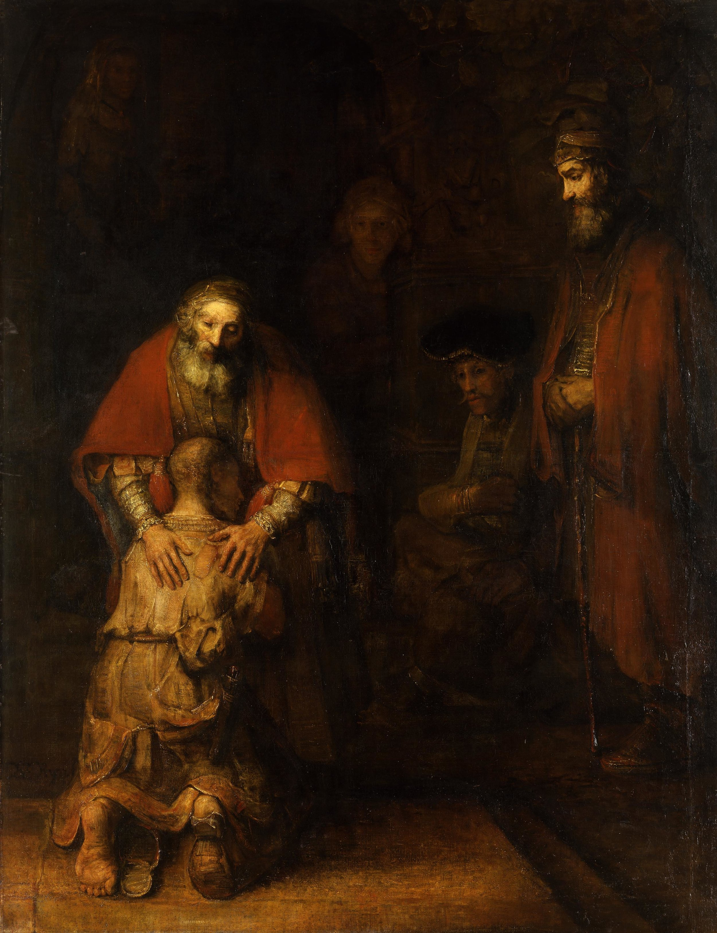 The Return of the Prodigal Son   Rembrandt