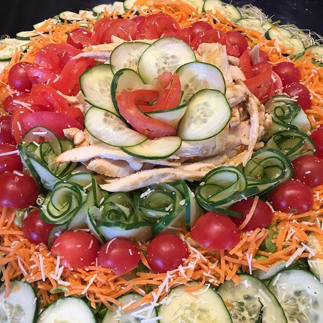 Chicken Salad platter