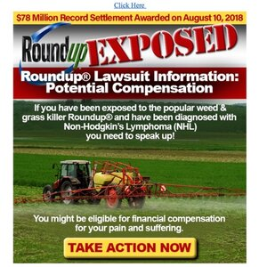 RoundUp Lawsuit Information - Ban Chemicals From Your Garden