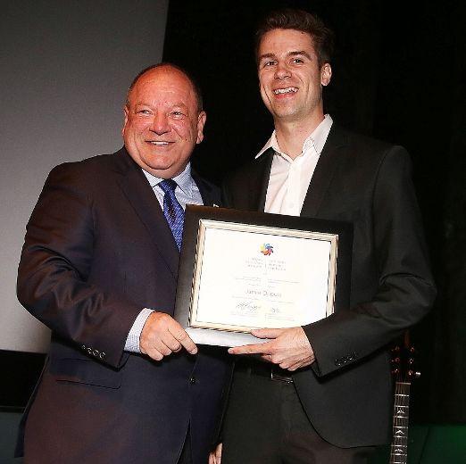 Mayor of Brian Bigger and Jamie Dupuis