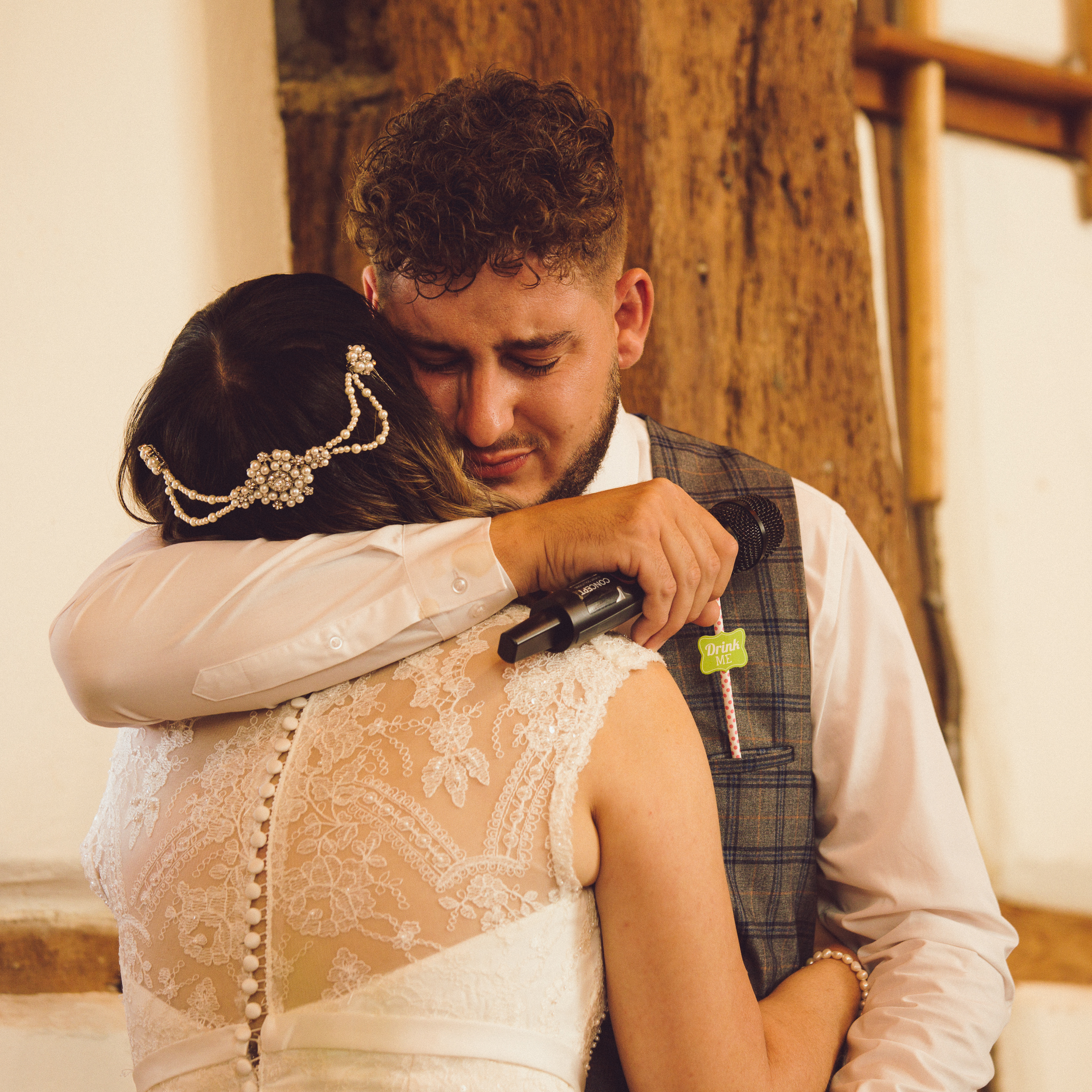 Emotions overflow at the barns hotel wedding of Helen & Charlie