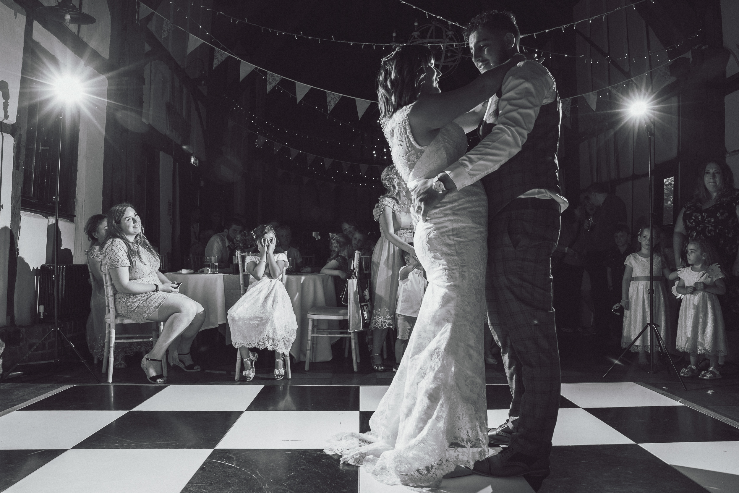 First dance at the barns hotel Bedfordshire.