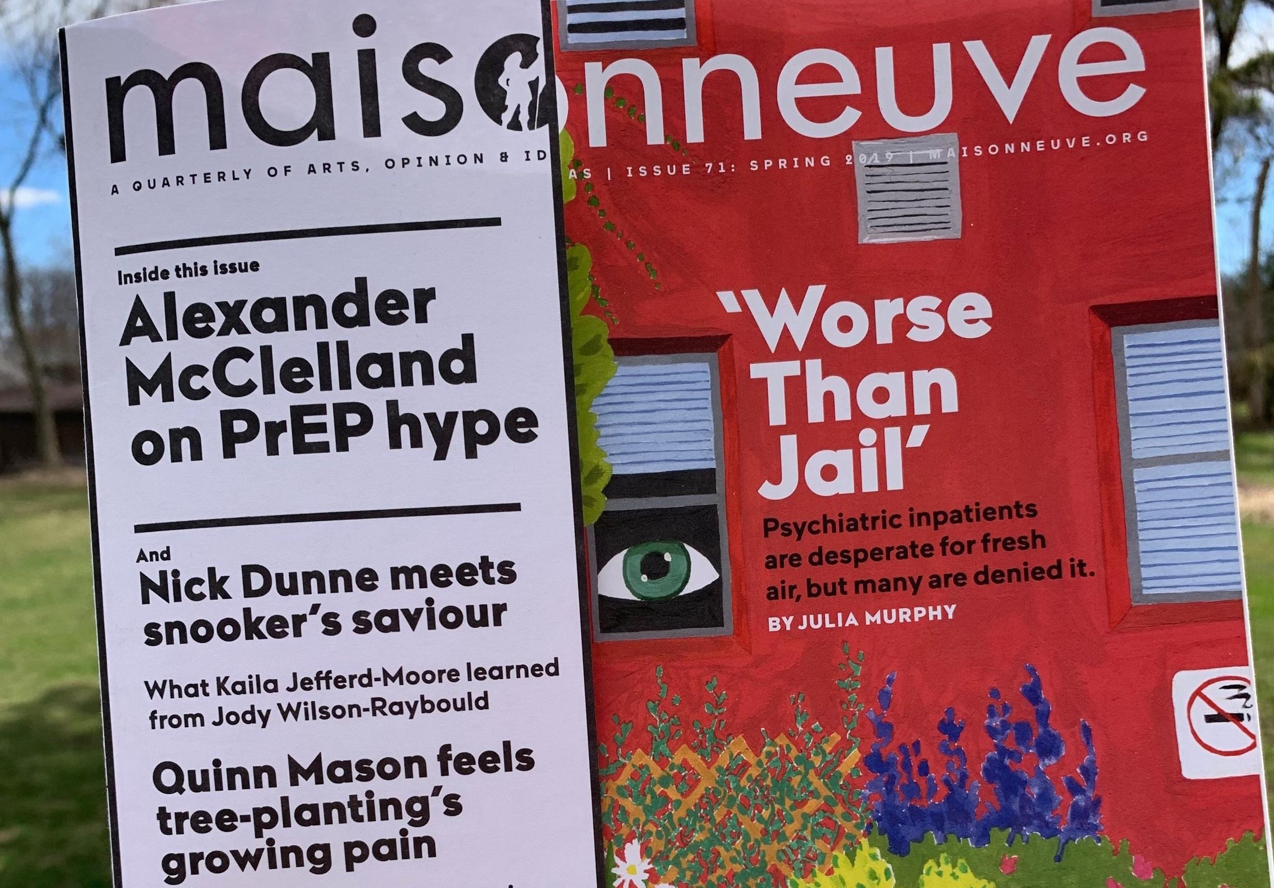 Maisonneuve magazine—Spring 2019