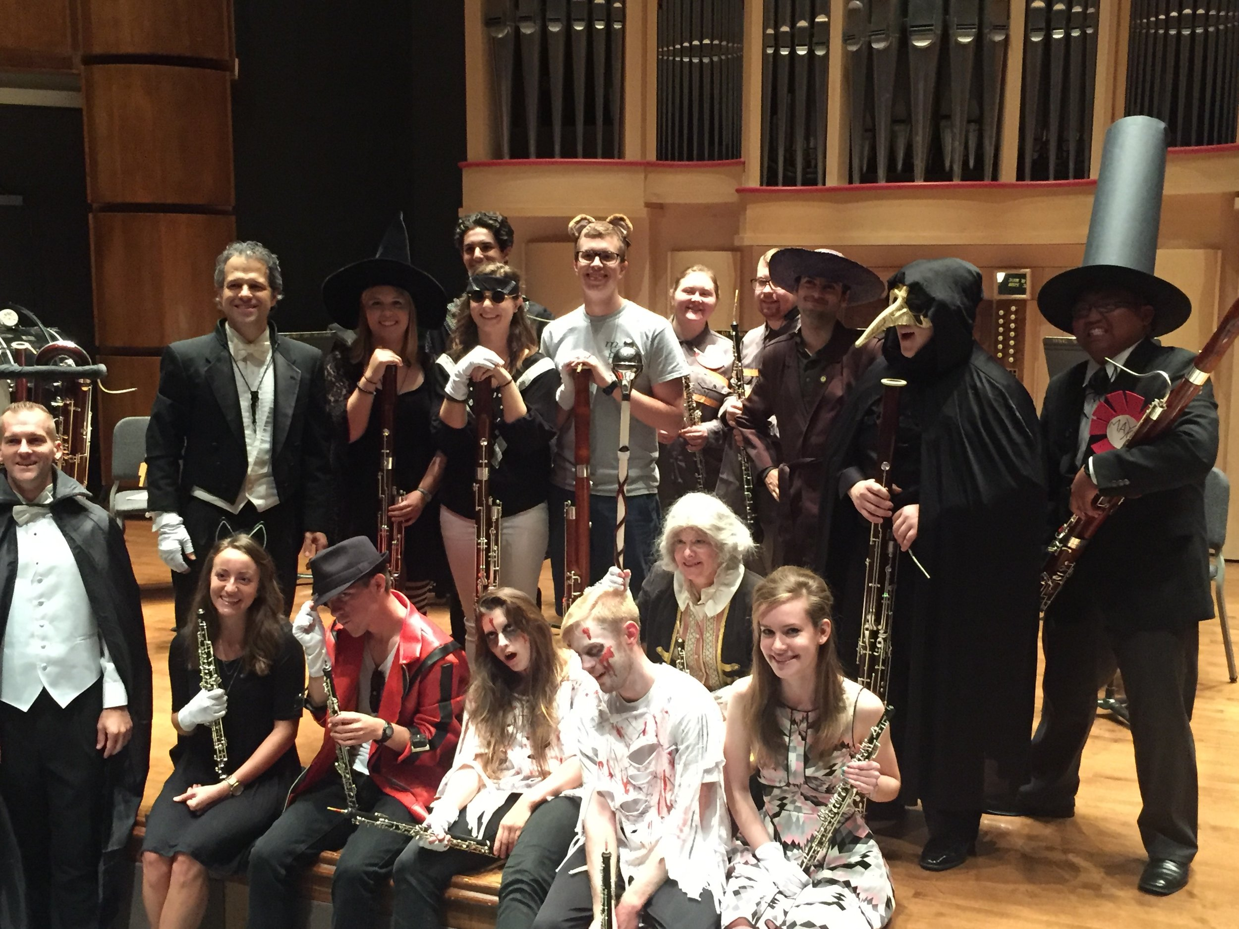 "After our Halloween concert ""Thriller: A Halloween Spooktacular"""
