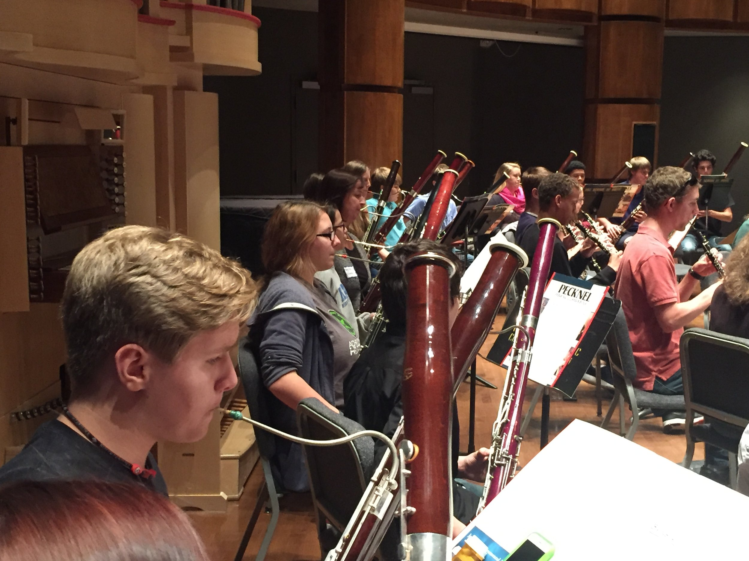 USC Double Reed Day, Nov. 2015