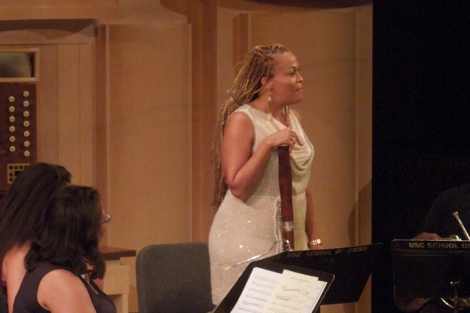 Bassoonist Monica Ellis, Imani Winds, Oct. 2016
