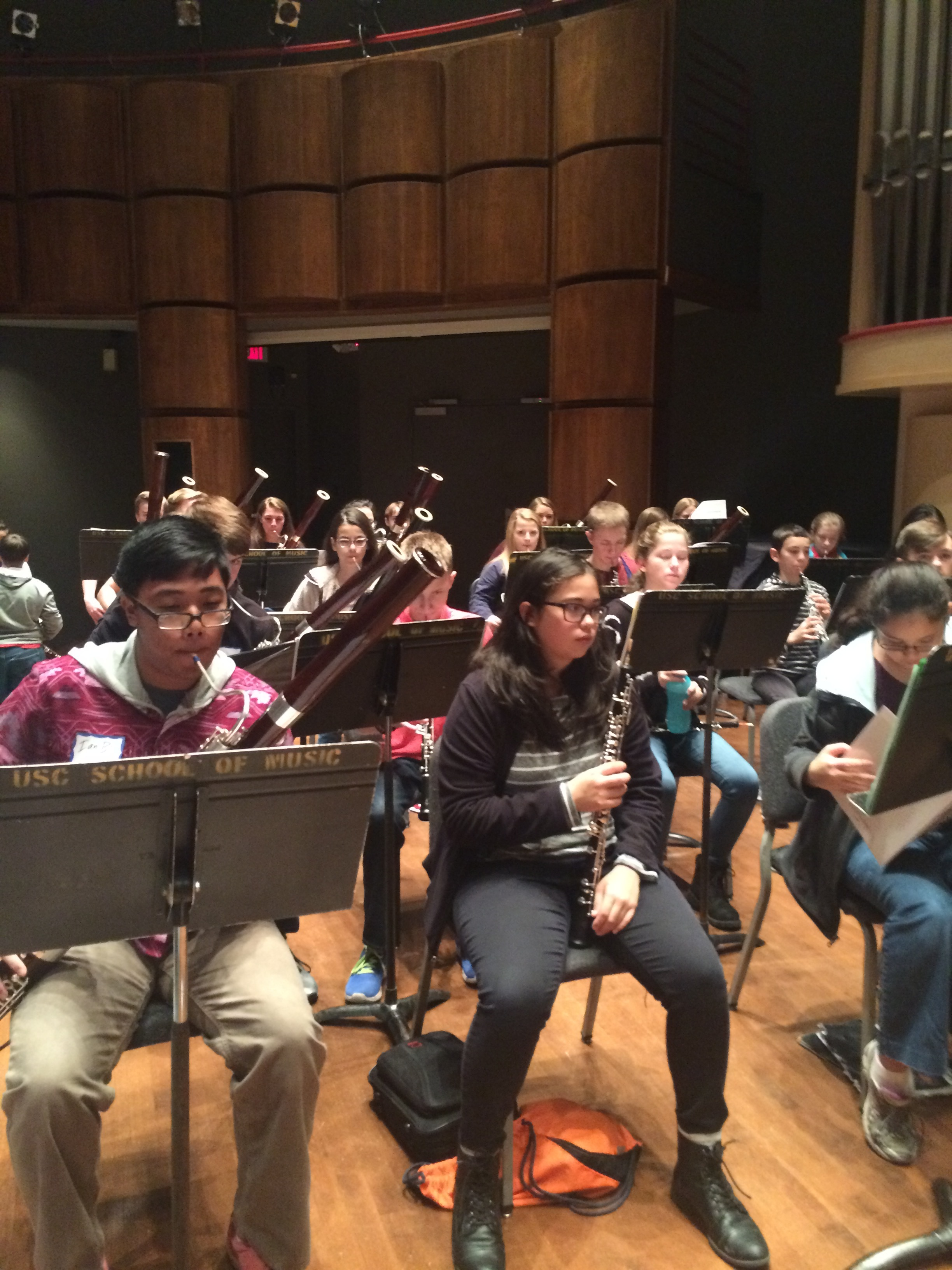 All-State Double Reed Workshop, Dec. 2016