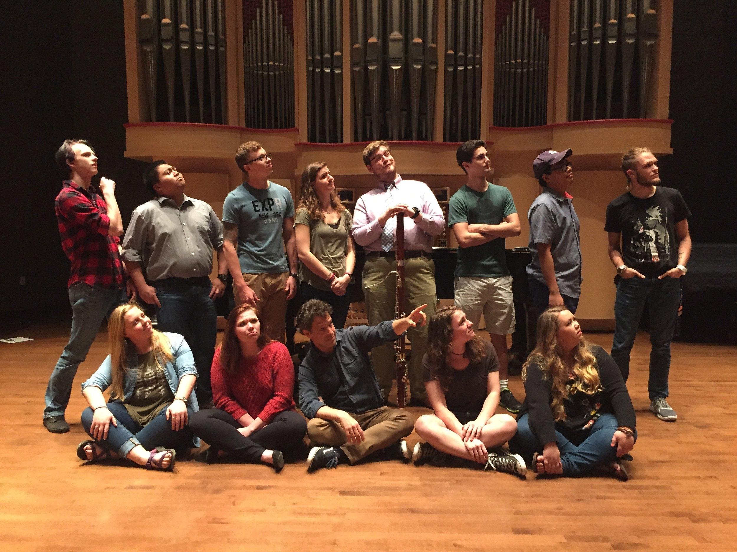 USC Bassoon Studio 2017-18