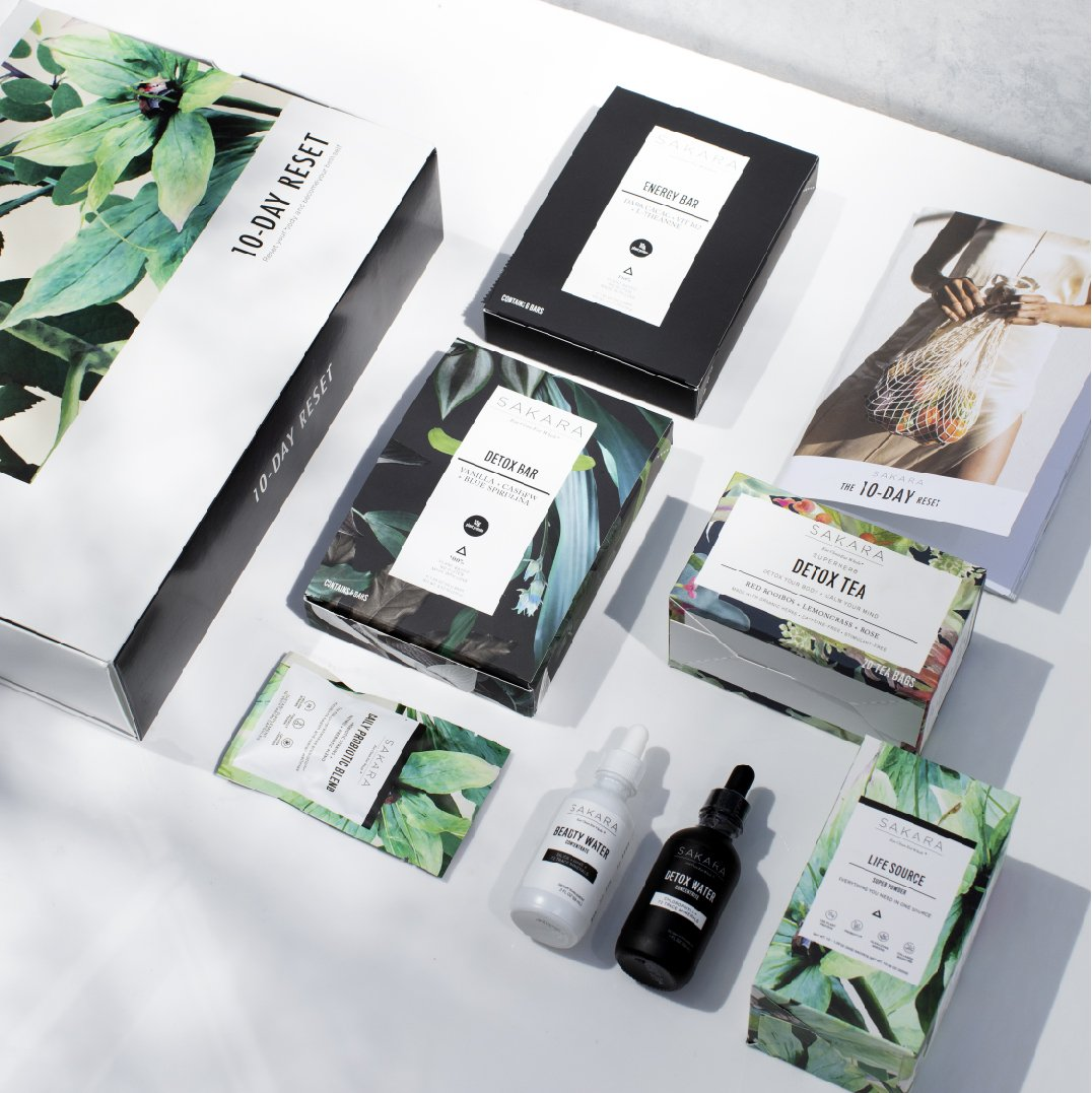 10-Day Reset - Try out all the essentials of Sakara life on a budget, we LOVE their products.$195
