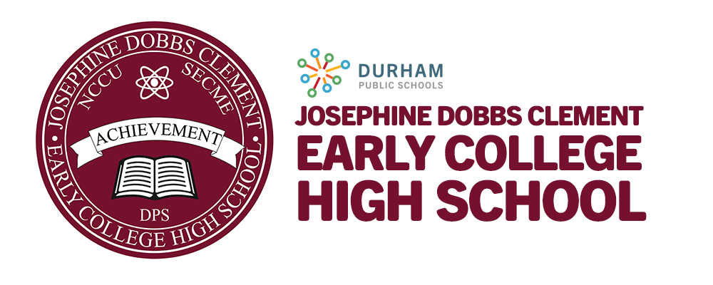 JD Clement Early College High School logo