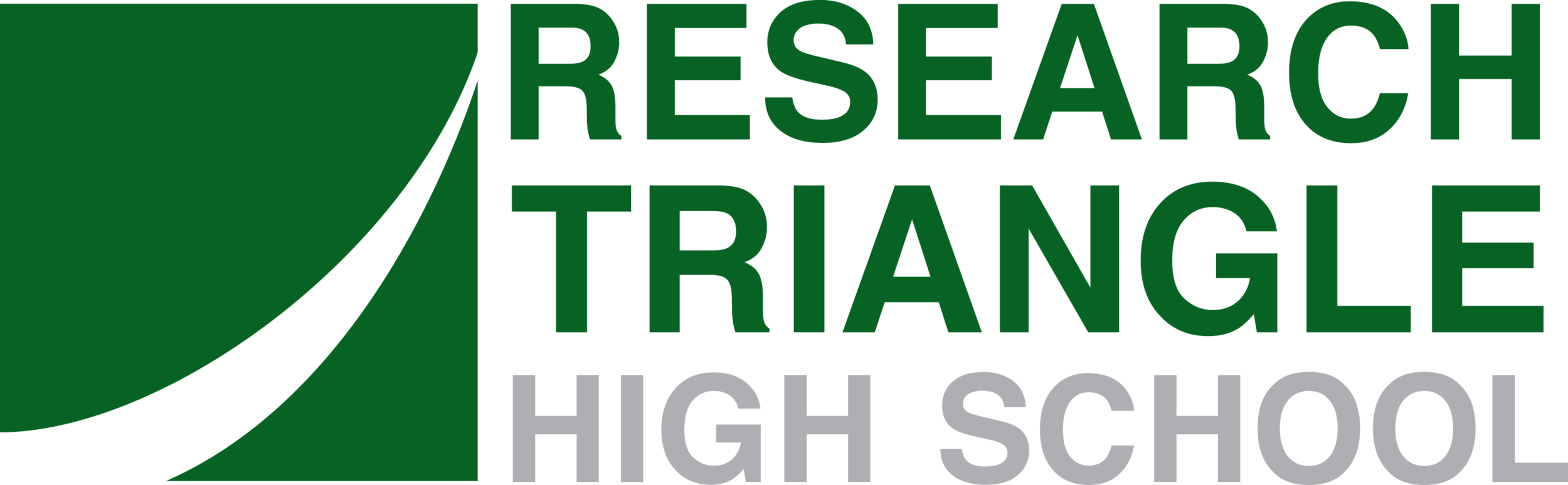 Research Triangle High School logo