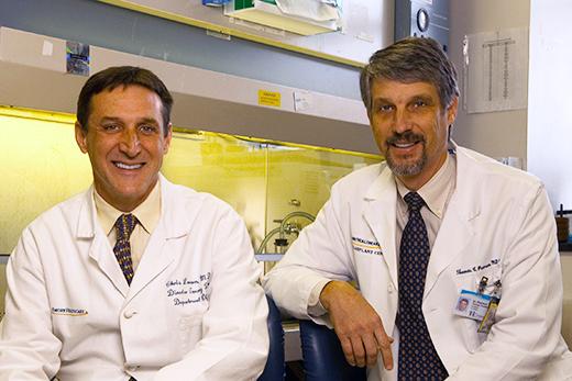 Chris Larsen (L) & Tom Pearson (R)