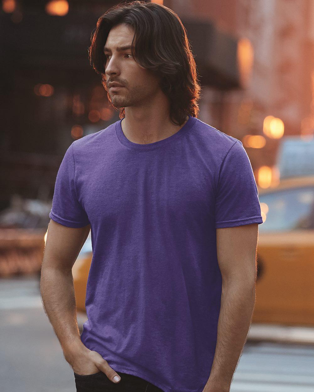 Anvil Triblend Crewneck T-Shirt - 6750             Starting at $5.50 Black