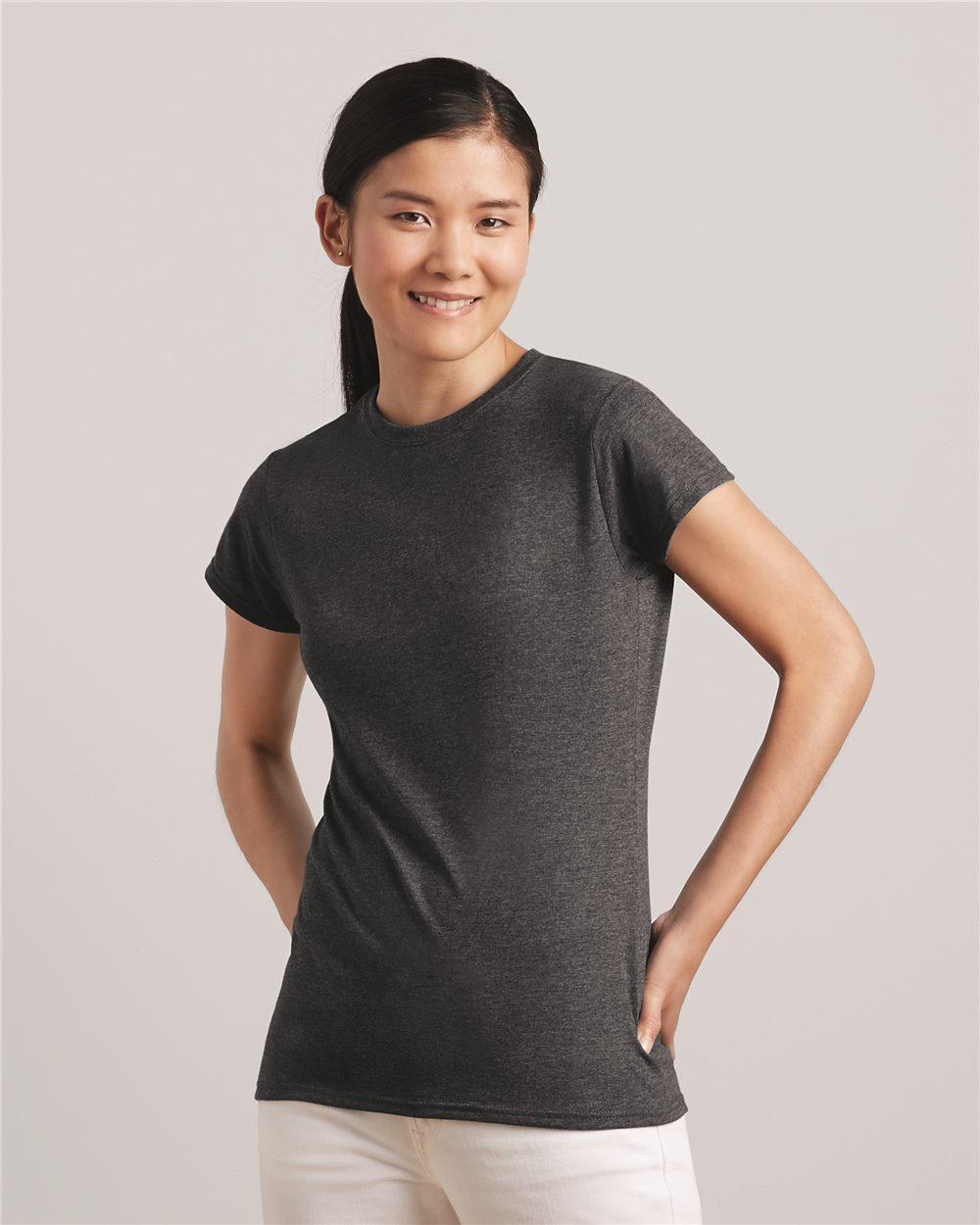 Gildan Softstyle Women's T-Shirt 64000L Starting at $3.50 Blank