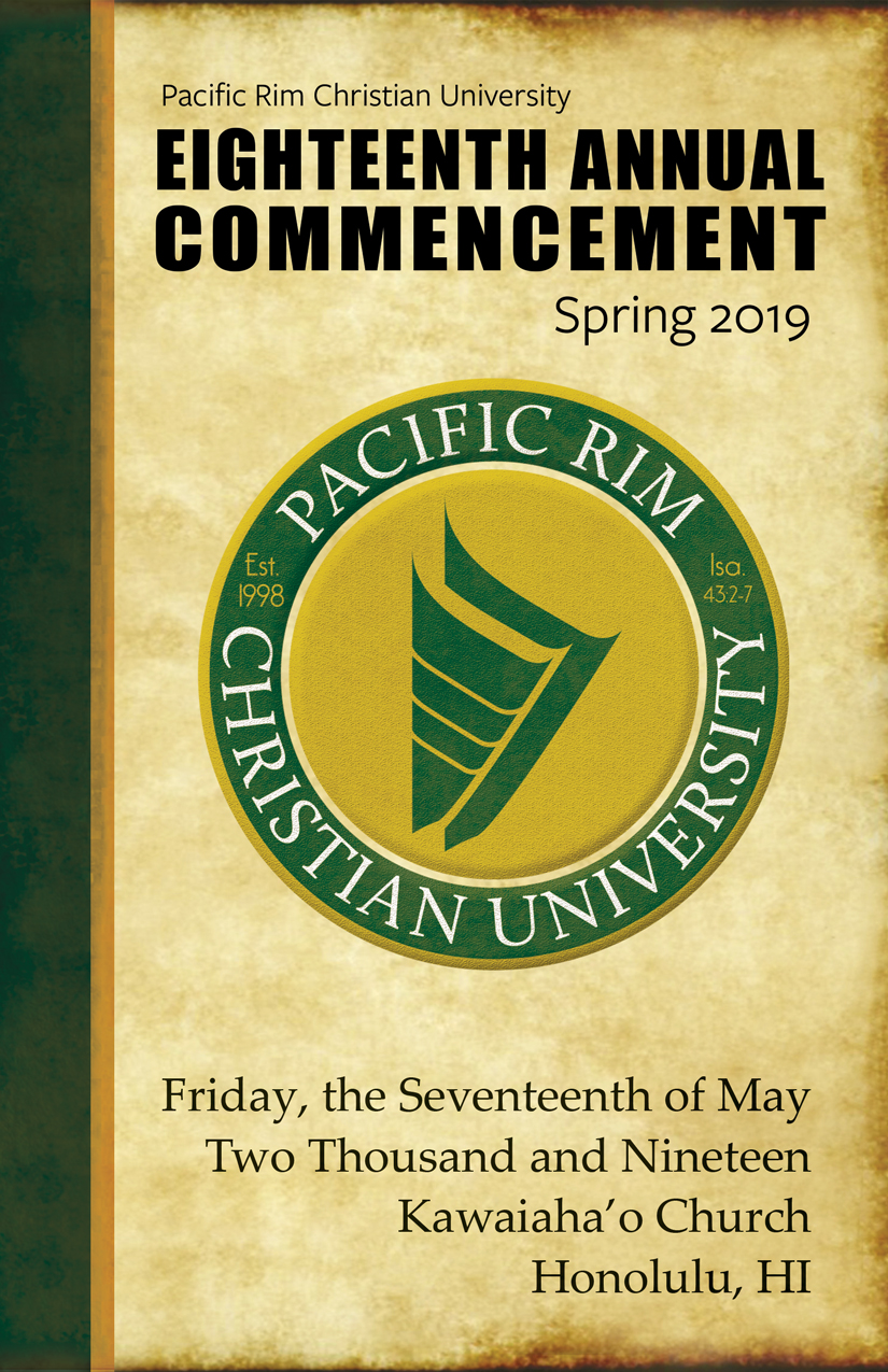 Click to View Commencement Program