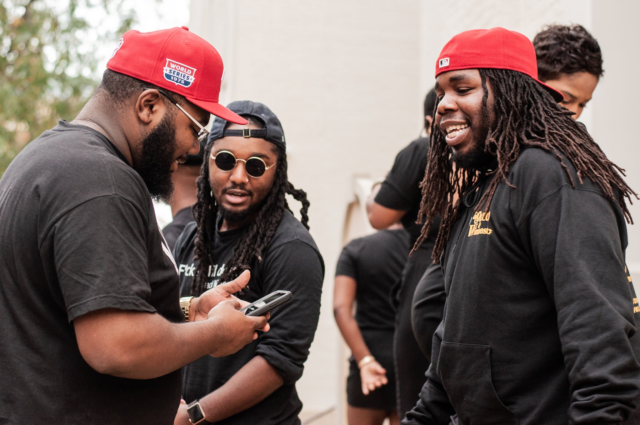 """Candids from """"A Great Day In Cincy"""". Ron Blassingame, Chris Crooks, and Tristan Overton photographed by Cintagious."""