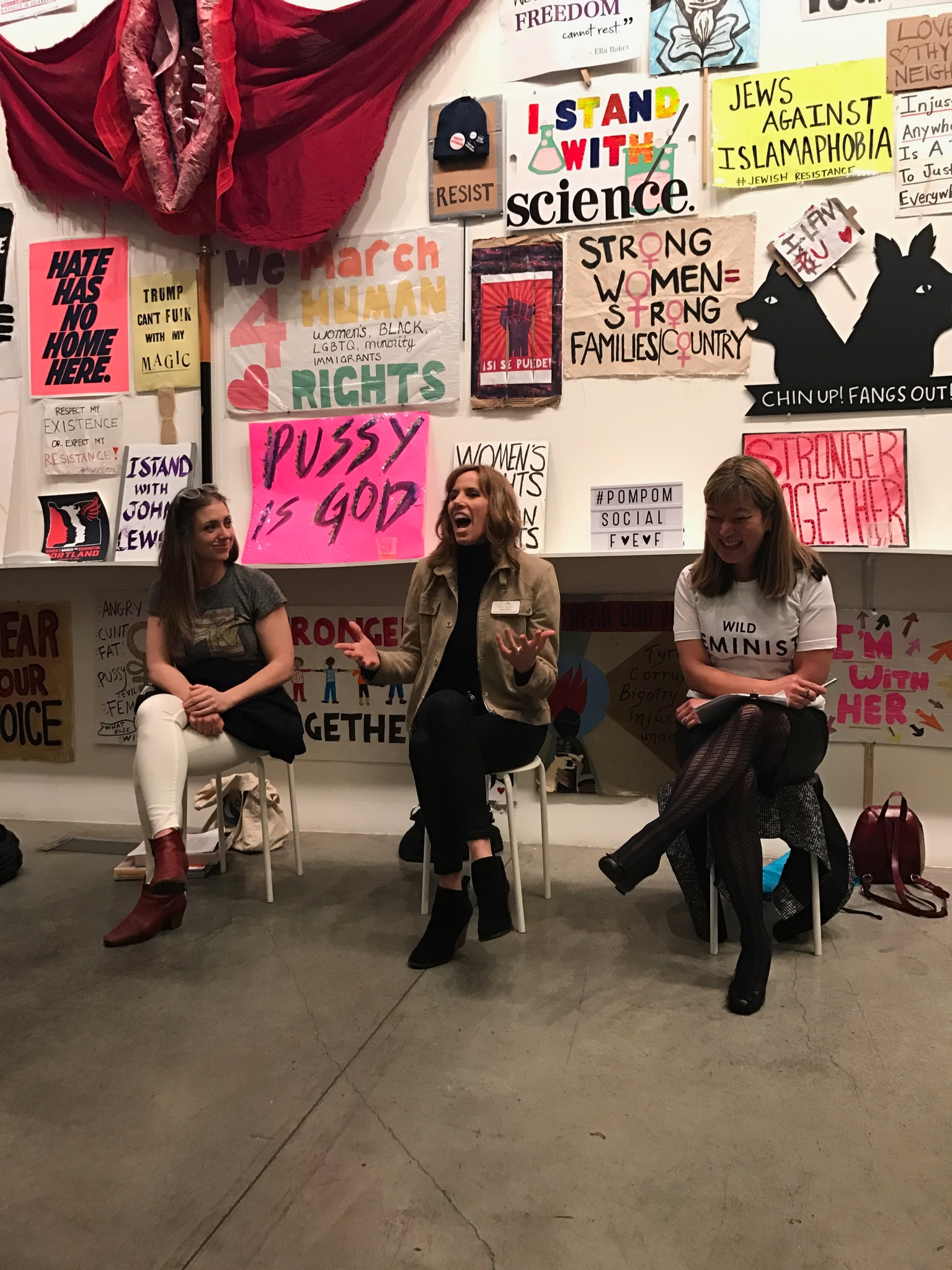 ACTIVISM CHAT @ WK PORTLAND WITH FEMINIST BOSS MOMS