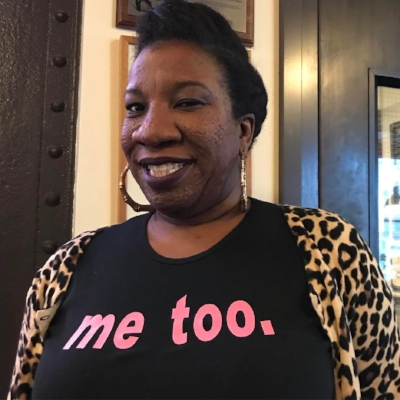 Social Activist Tarana Burke who coined the term MeToo over 10 years ago (image source Just Be Inc.)