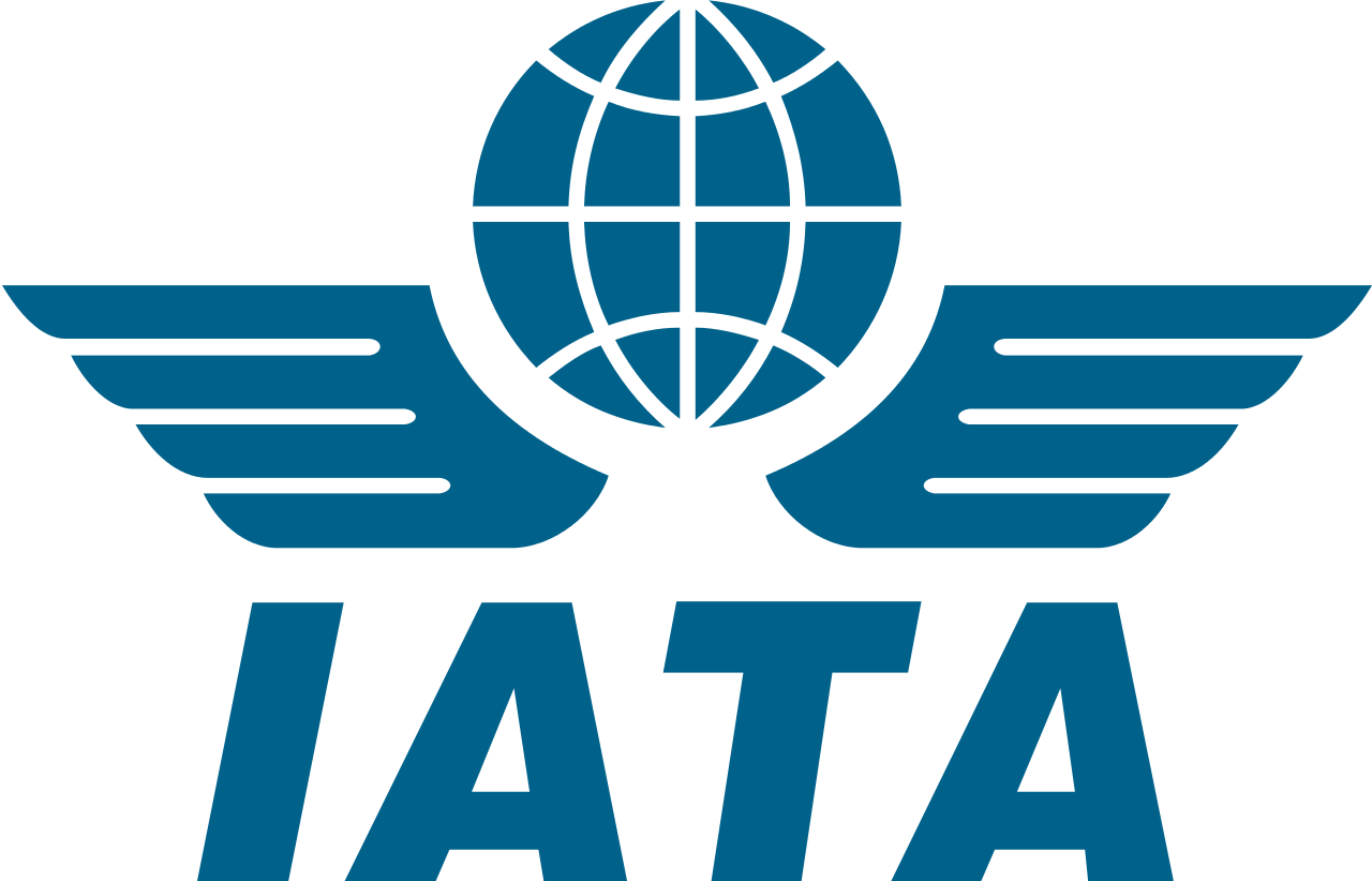 IATA.International Air Transport Association is a trade association of the world's airlines