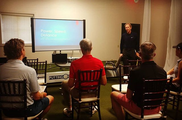 ⛳ Power & Performance Seminar 🏌️ . Once again an honor to work alongside Mr. Sieckmann. Tom seriously cares about his golfers and it's fun to watch! . Our #tpi screen tonight included the #power screen which highlights potential differences between lower body, core, and upper body power output. Combined with the movement screen and golf swing video analysis there isn't much more a golfer could ask for. . There's power in knowing where your body is holding you back. . What a beautiful night to empower Omaha's golfers too!