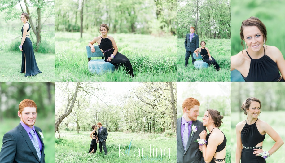 Senior prom photo shoot, beautiful couple
