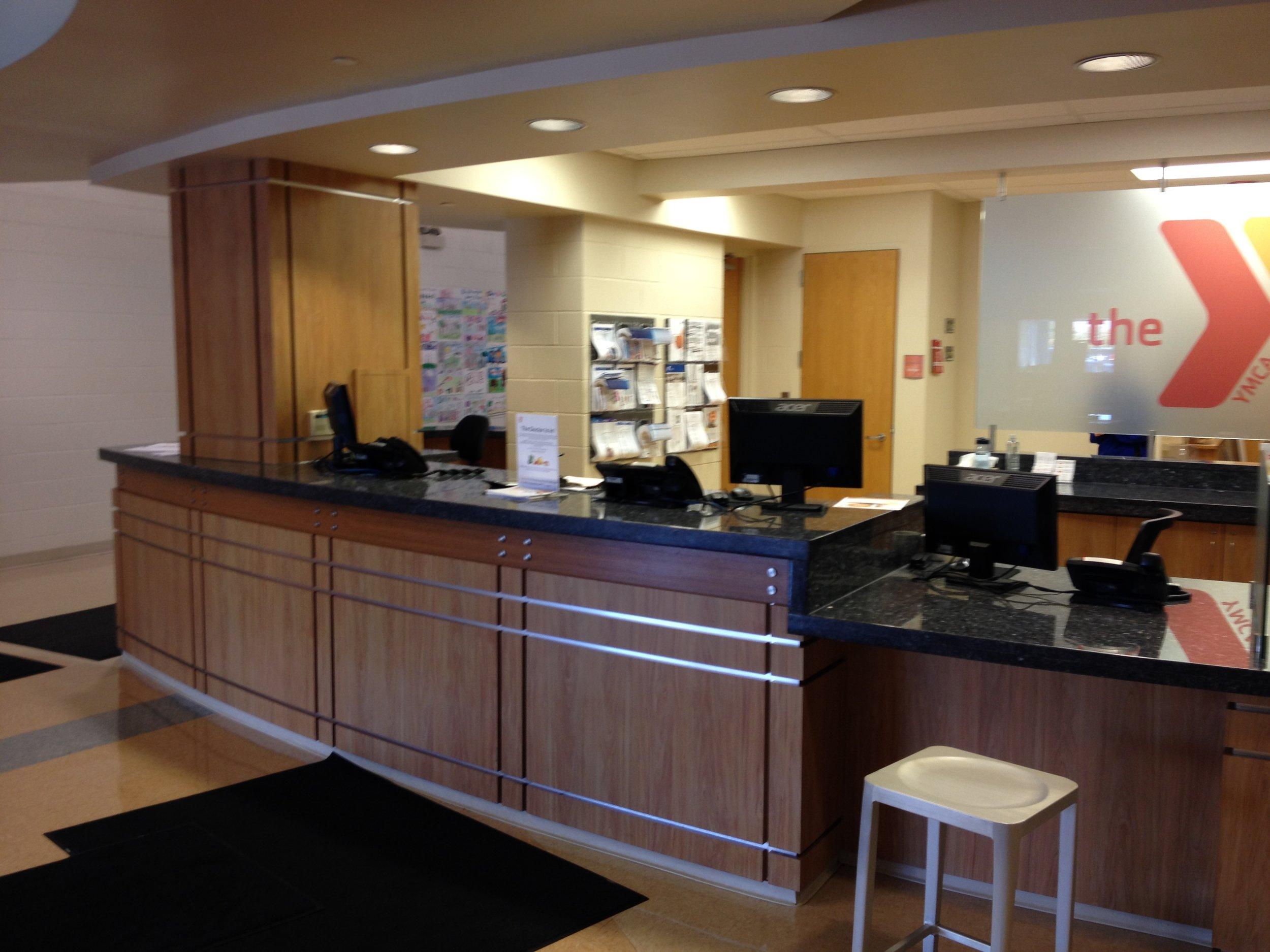 front information desk