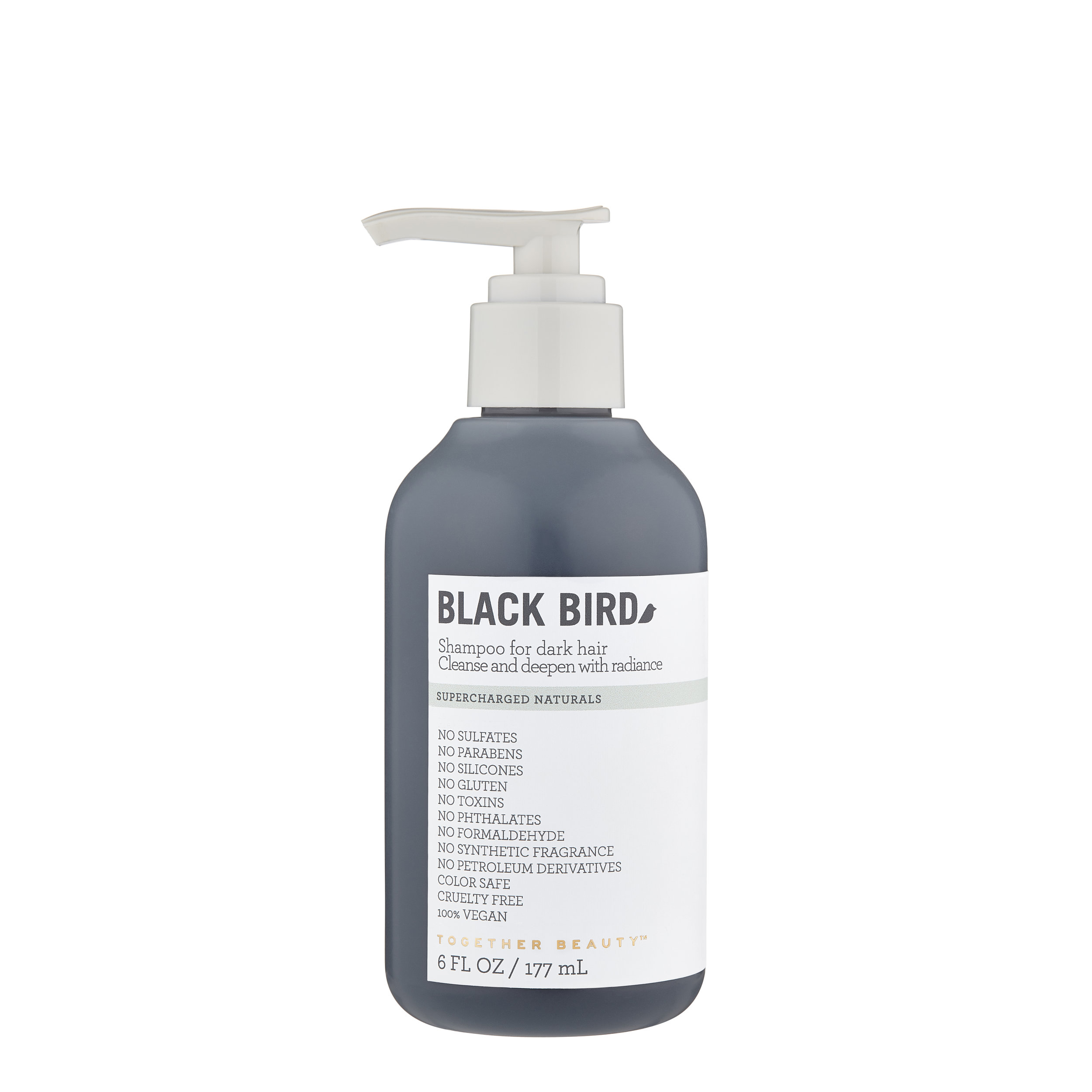 BLACK BIRD - Shampoo for dark hairCleanse and deepen with radiance