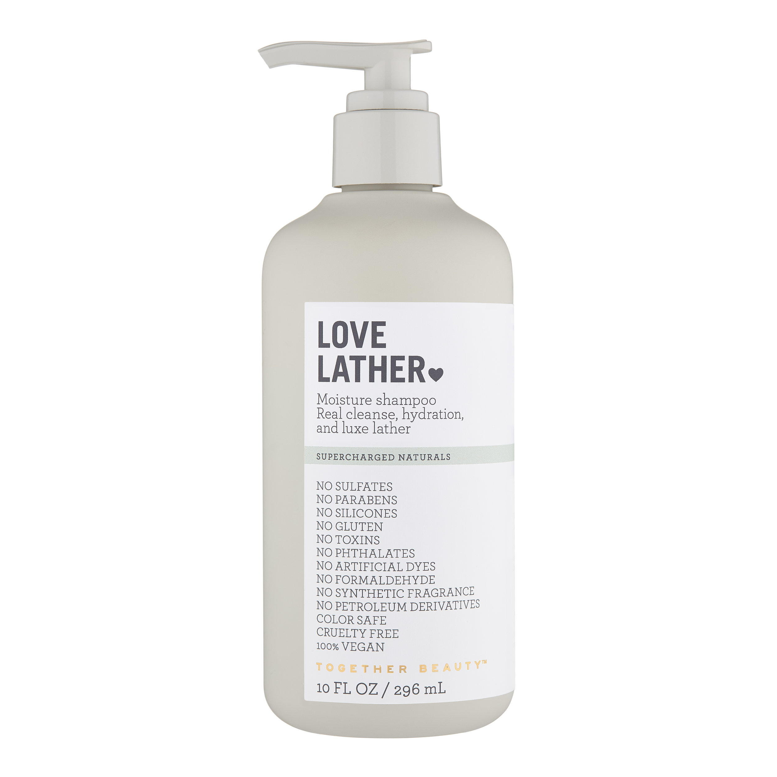 LOVE LATHER - Moisture shampooReal cleanse, hydration, and luxe lather