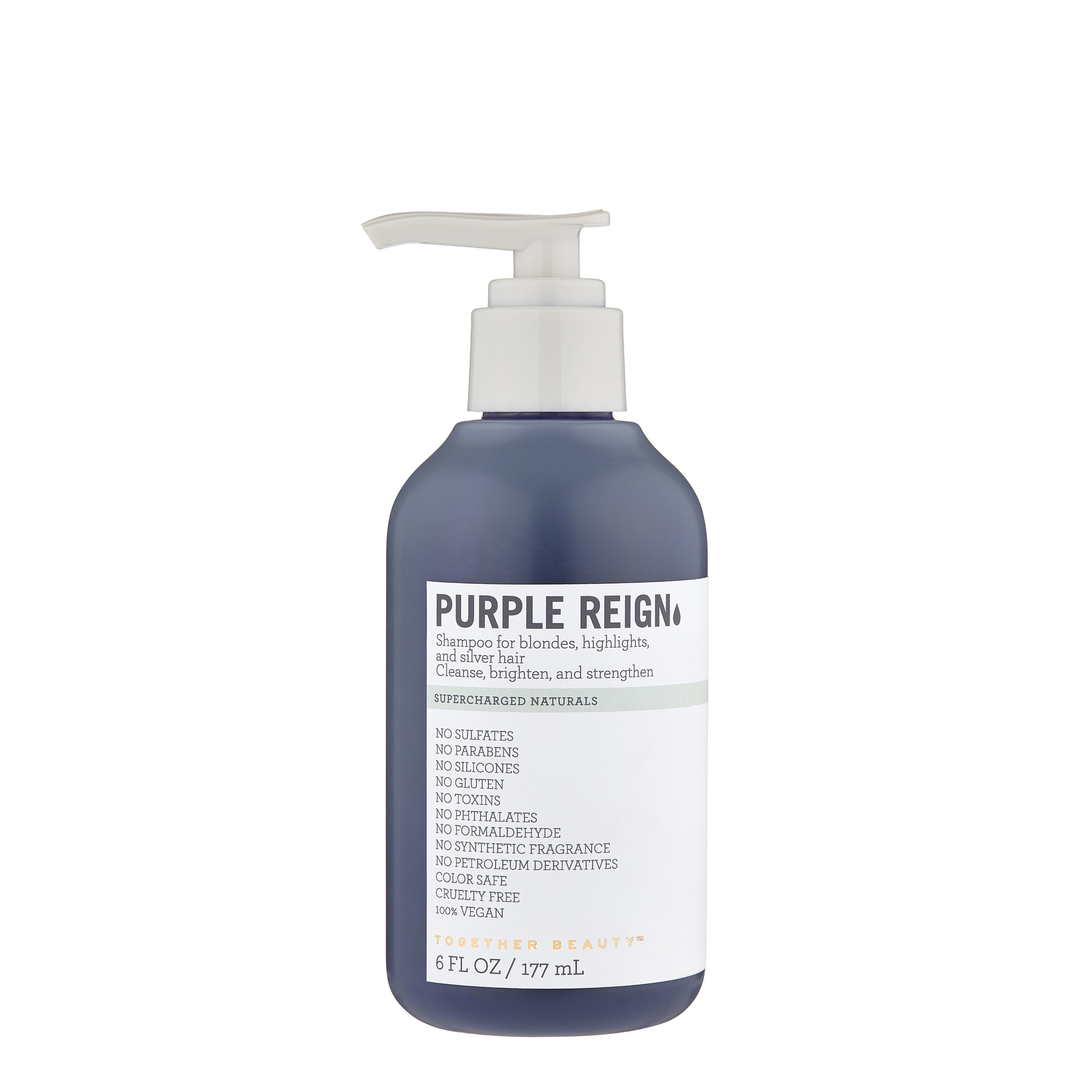 PURPLE REIGN - Shampoo for blondes, highlights, and silver hairCleanse, brighten, and strengthen
