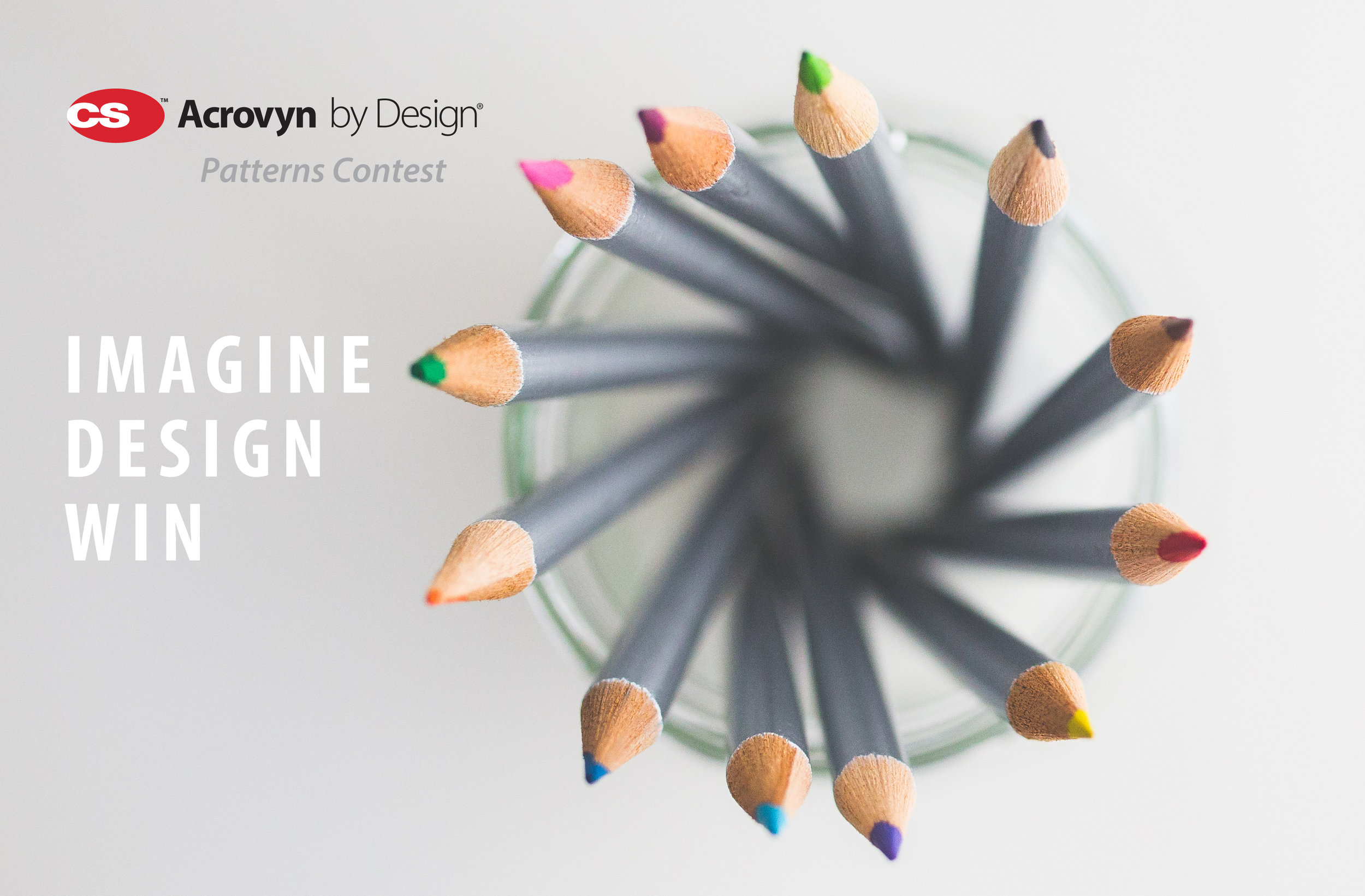 The official Acrovyn by Design Patterns Contest Banner. Photo provided by Pexels.