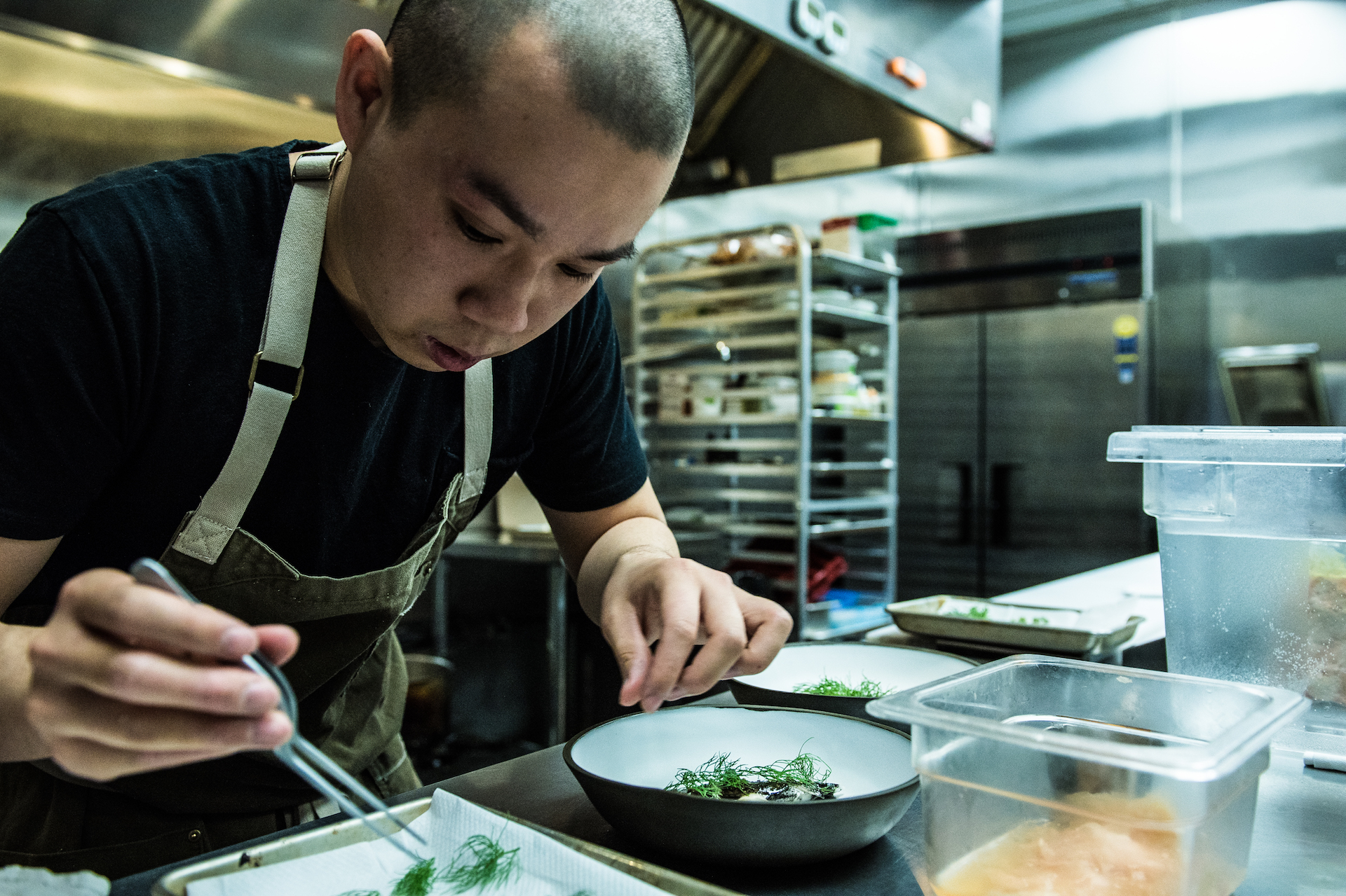 Chef Jonathan Yao of Kato