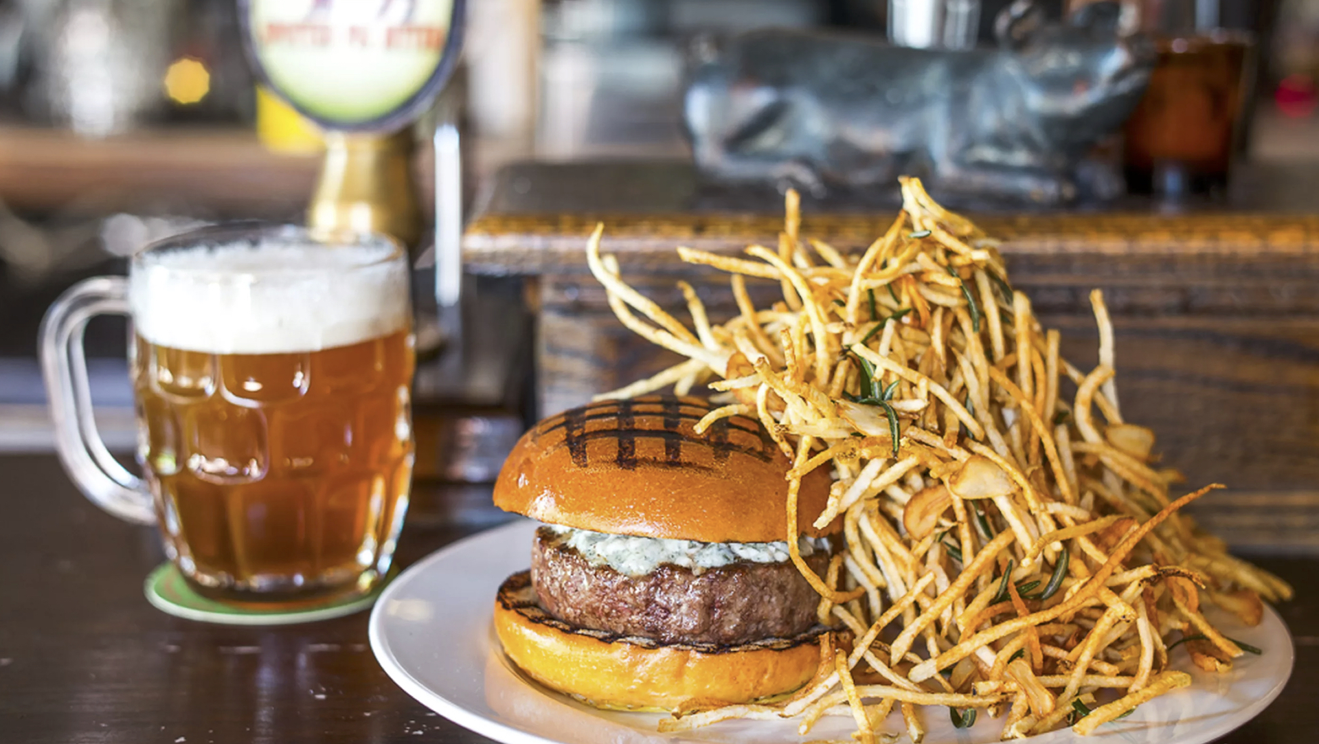 The famous Spotted Pig Burger. Source: Eater