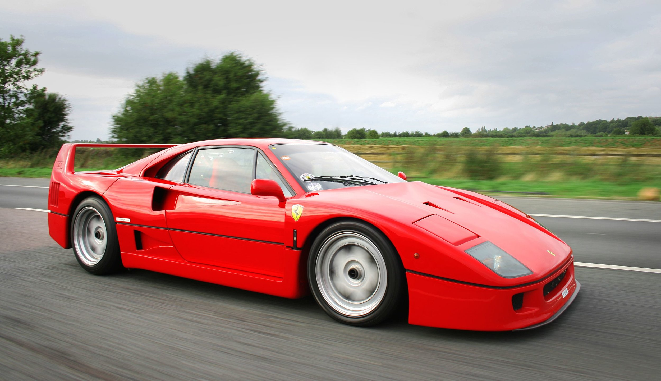 The Ferrari F40. Source: Will Ainsworth.