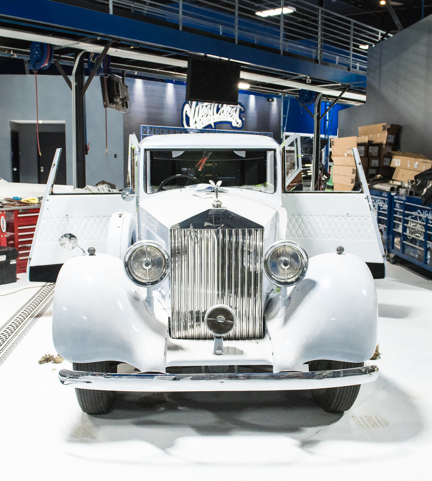 Musa's design of the 1967 Rolls Royce Phantom for Justin Bieber.