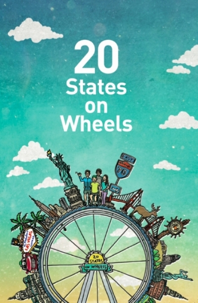 The travel guide created by 20 States On Wheels.   Source: Muui