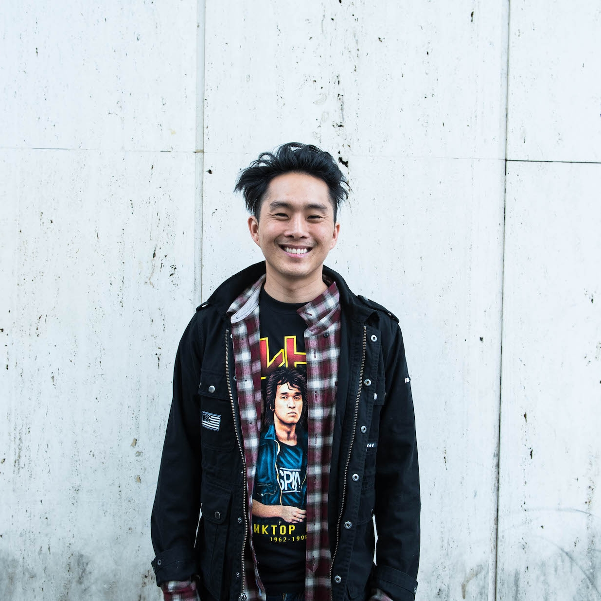 Justin Chon creates stories centered on Asian American experiences.Photo by George Ko.