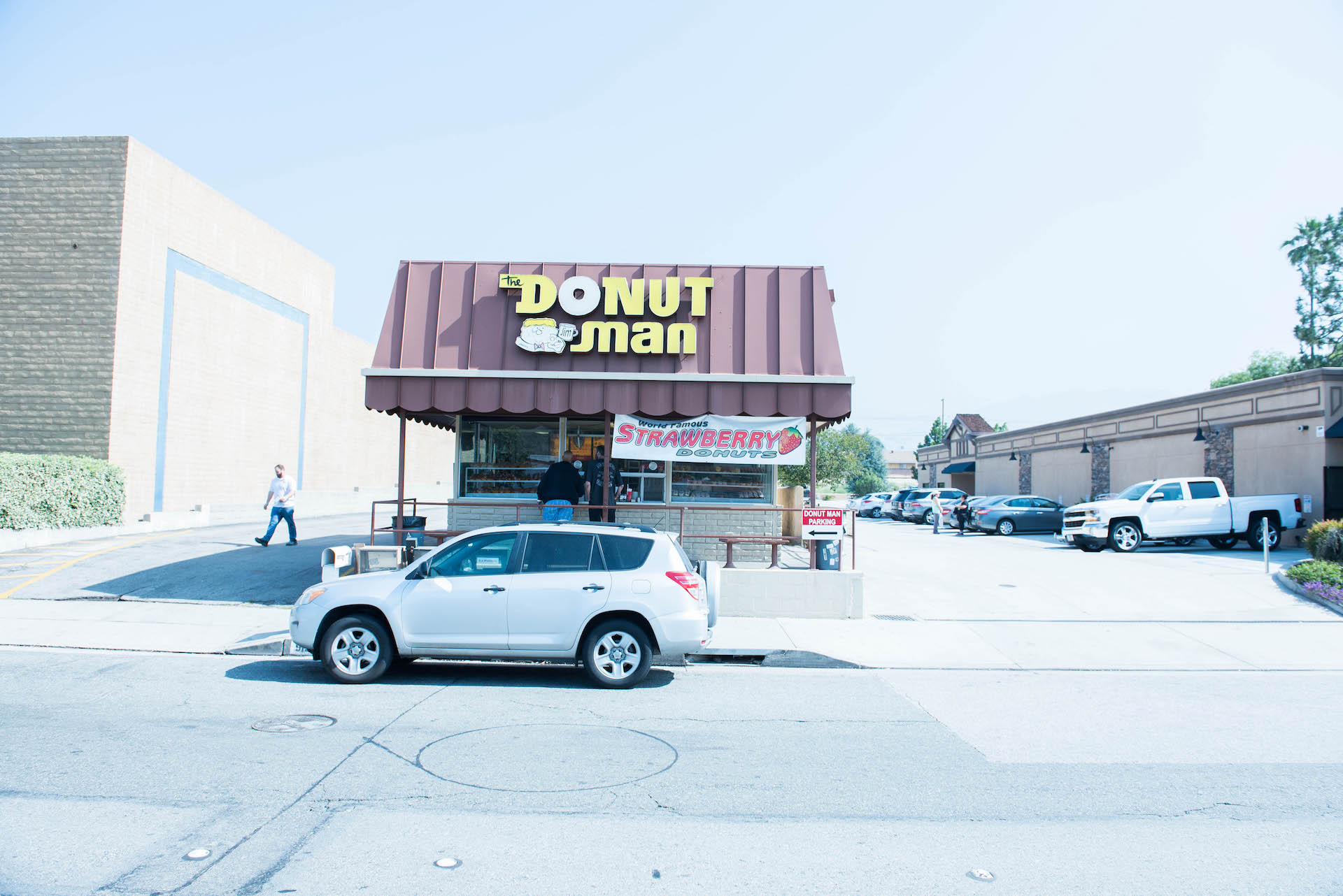Donut Man is open 24 hours and attracts folks from all over.
