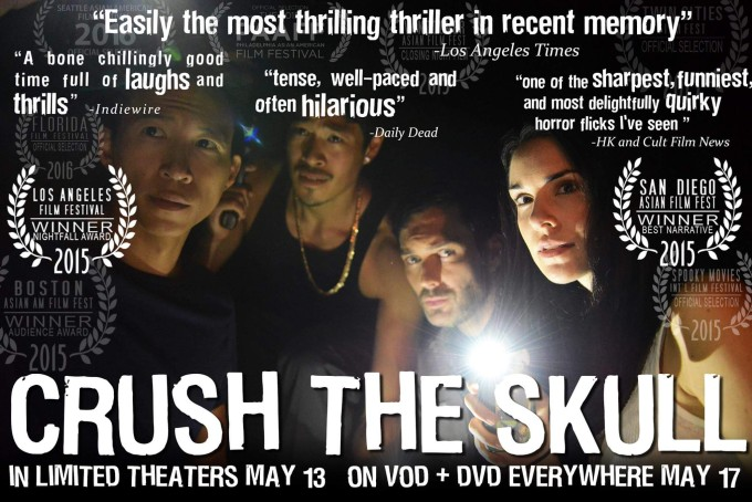 Crush the Skull  received praise from various film festivals. Source:  Crush the Skull  film.