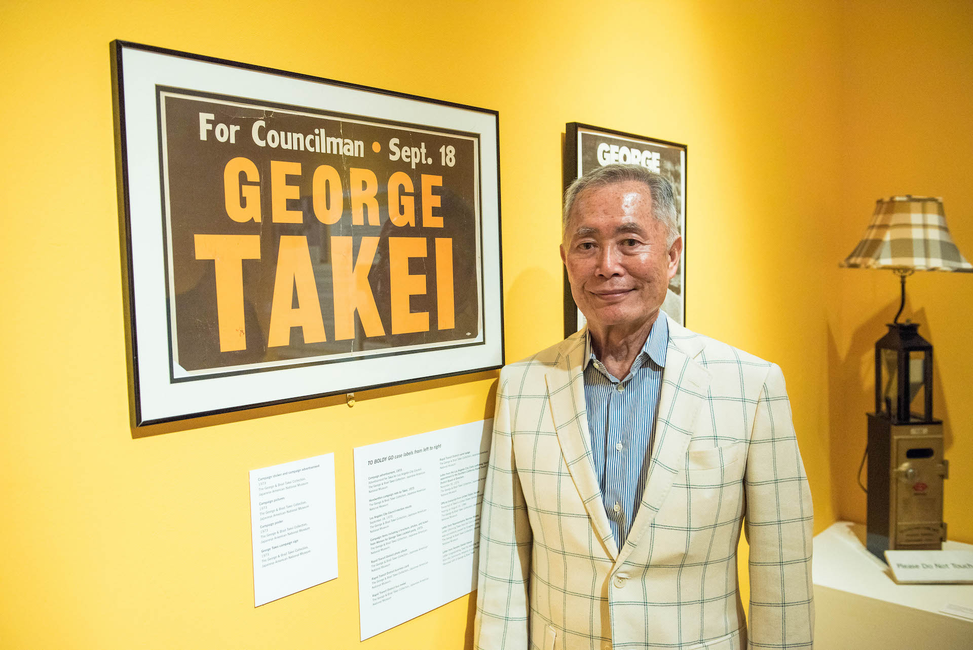 In 1973, George Takei ran for a seat on the L.A. City Council.