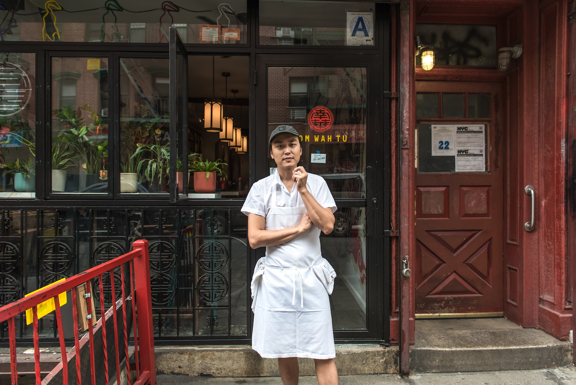 Chef Jonathan Wu, the creative food genius living inside Nom Wah Tu, an amalgamation of the Nom Wah Food Group and Fung Tu.