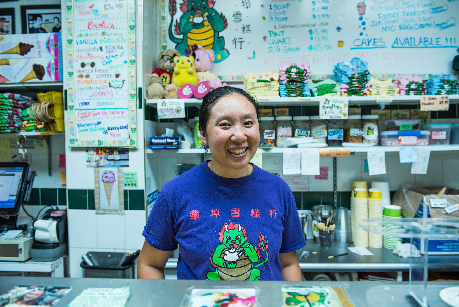 Christina Seid, the current owner of Chinatown Ice Cream Factory, started working at the store as a kid with her father.