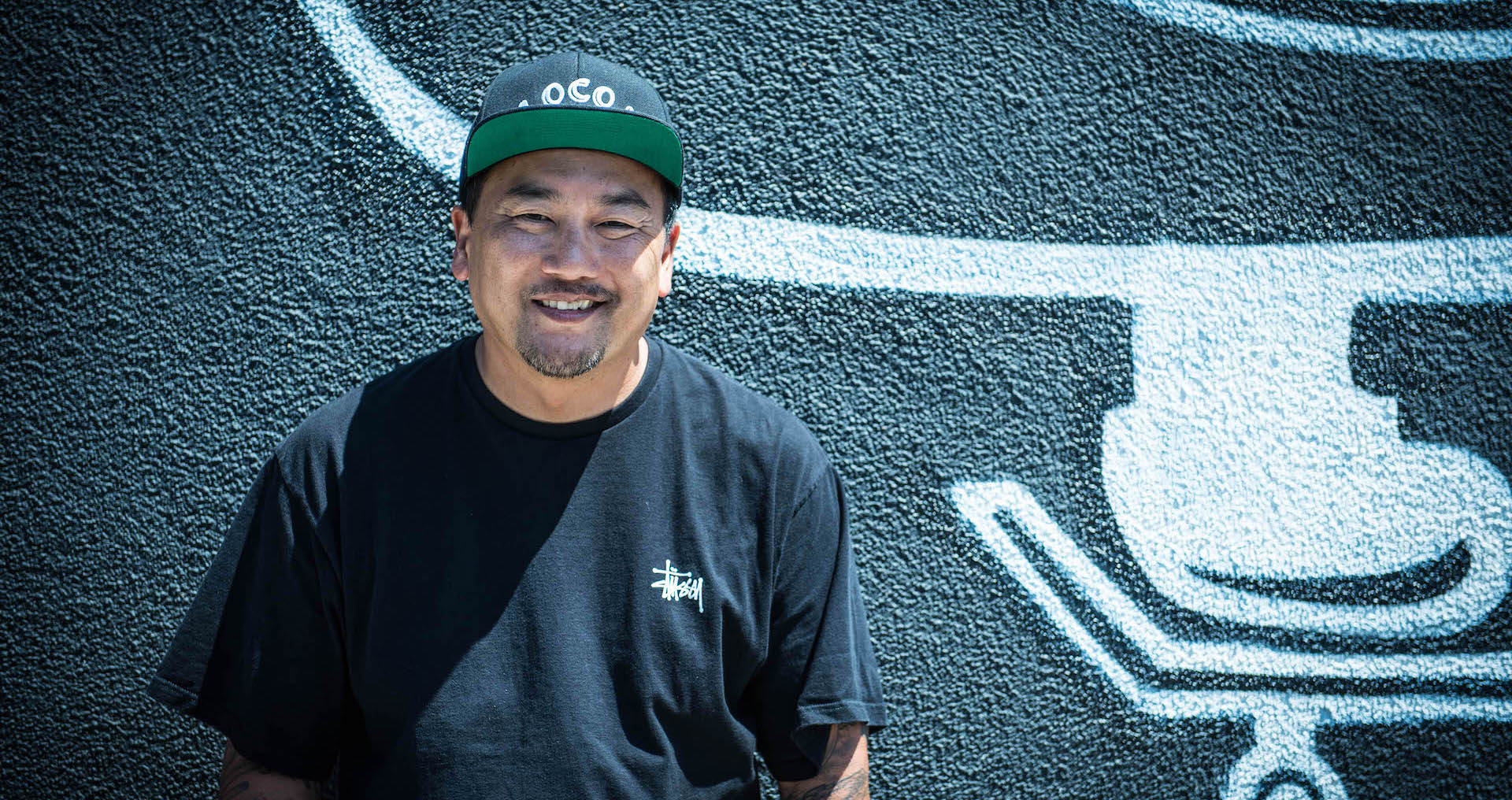Chef Roy Choi outside Locol.
