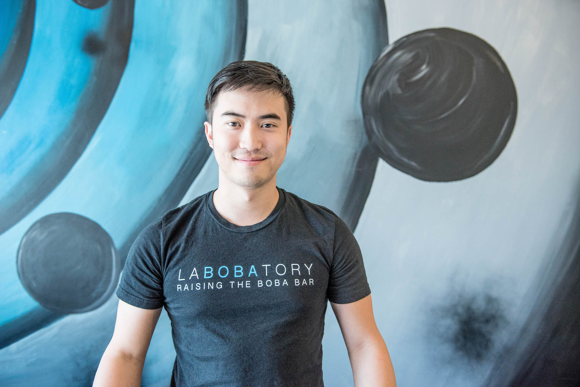 Labobatory owner Elton Keung opened his first boba shop by fundraising through Kickstarter.
