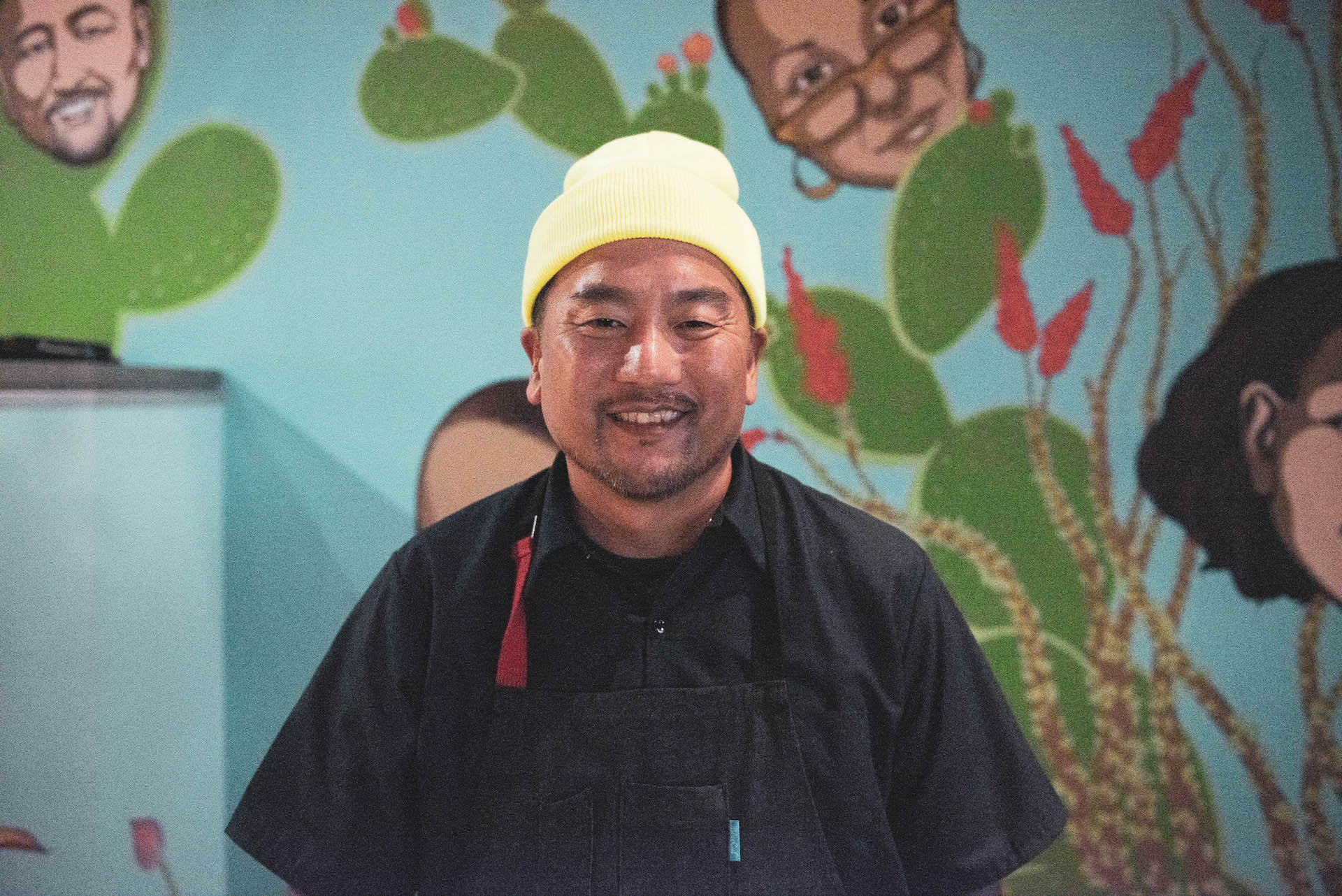 GRM Food Guru Roy Choi at his newest restaurant in Best Friend.
