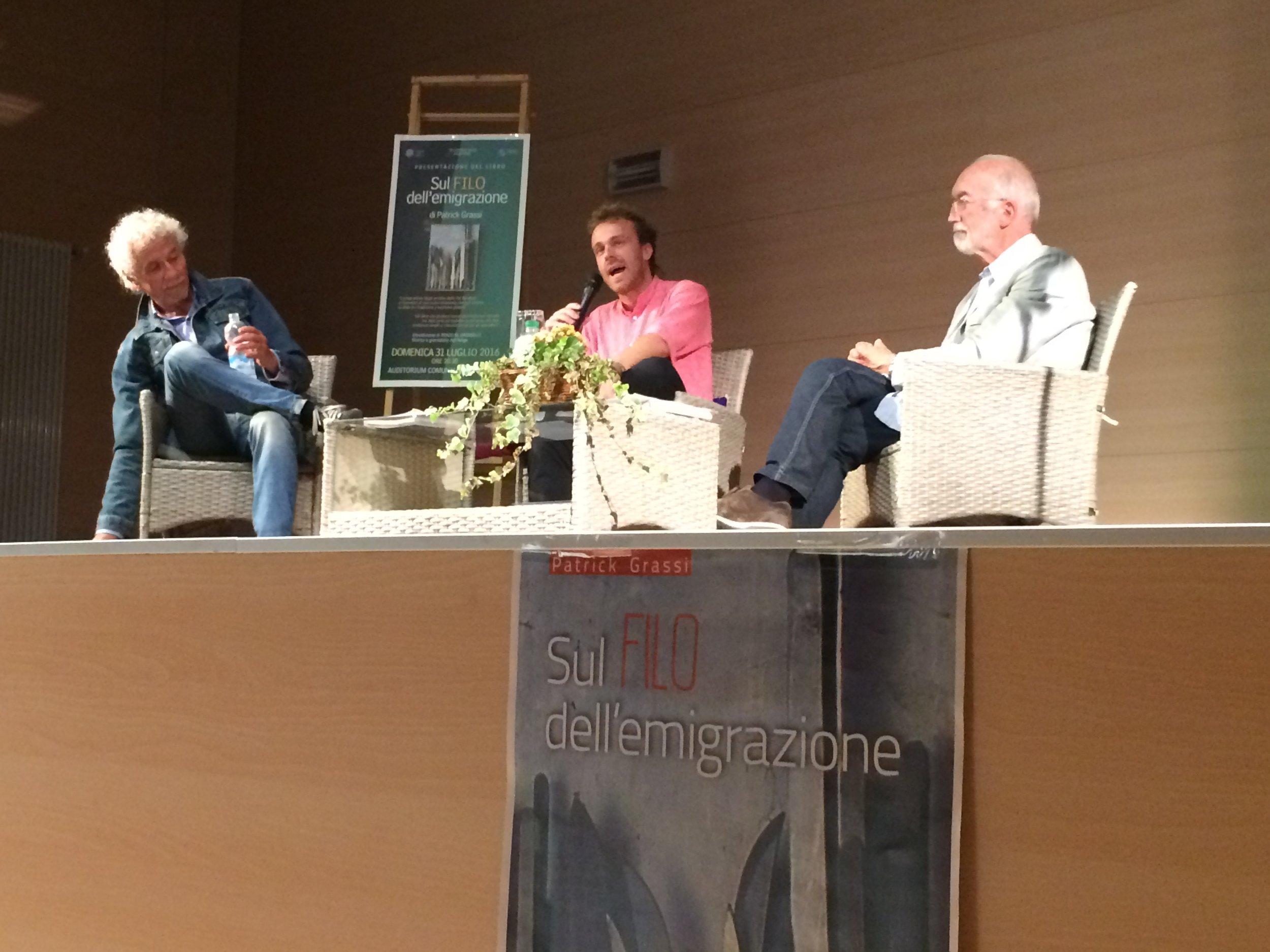 Renzo Grosselli, Patrick Grassi, Graziano Riccadonna