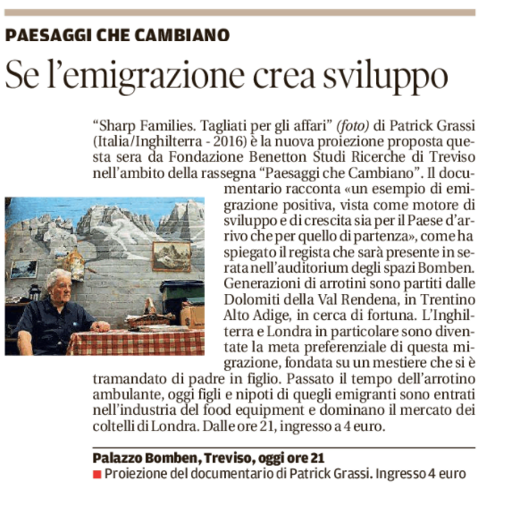 La tribuna di Treviso | 8 novembre 2017