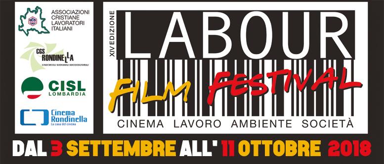 14° Labour Film Festival - Cinema Rondinella, Sesto S. Giovanni (MI), viale Matteotti 425
