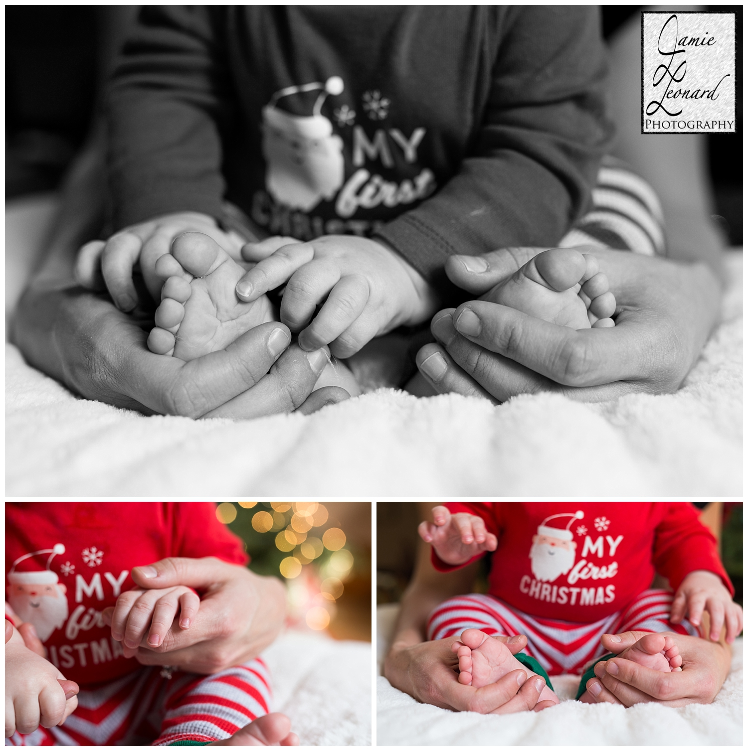 Christmas, baby session, portrait, jamie leonard photography, pennsylvania photographer.jpg