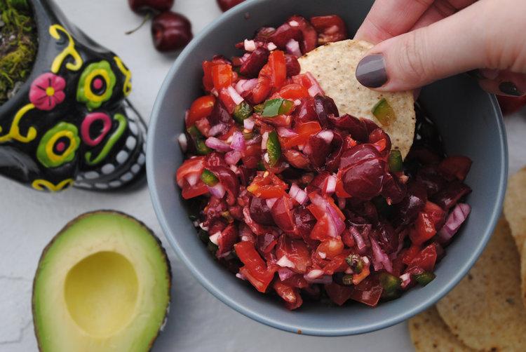 Spicy Cherry Salsa